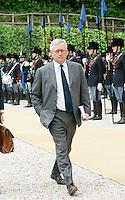 ITALIAN MINISTER OF ECONOMY GIULIO TREMONTI.Roma 26/04/2011 Vertice Italo-Francese a Villa Madama. Italian-French Summit..Photo Samantha Zucchi Insidefoto