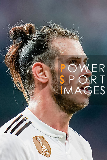 Gareth Bale of Real Madrid reacts during the UEFA Champions League 2018-19 match between Real Madrid and Roma at Estadio Santiago Bernabeu on September 19 2018 in Madrid, Spain. Photo by Diego Souto / Power Sport Images