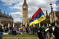 15.04.2017 - Venezuelan Protest in Parliament Square