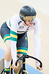 Jacob Schmid of Australia competes in the Men's Team Sprint - Qualifying match as part of the 2017 UCI Track Cycling World Championships on 12 April 2017, in Hong Kong Velodrome, Hong Kong, China. Photo by Victor Fraile / Power Sport Images