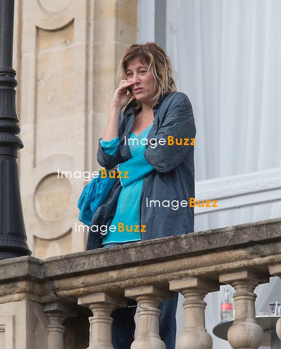 EXCLUSIF : Valeria Bruni Tedeschi, la soeur de Carla Bruni lors de la 28ème édition du Festival international du Film Francophone ( FIFF), à Namur en Belgique.