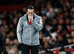 Unai Emery manager of Arsenalduring the UEFA Europa League match at the Emirates Stadium, London. Picture date: 28th November 2019. Picture credit should read: David Klein/Sportimage