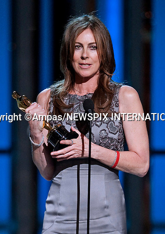 """KATHRYN BIGELOW WINNER OF THE BEST DIECTOR AWARD.during the  82nd Annual Academy Awards Telecast at the Kodak Theatre in Hollywood, CA, on Sunday, March 7, 2010..Mandatory Photo Credit: Newspix International..**ALL FEES PAYABLE TO: """"NEWSPIX INTERNATIONAL""""**..PHOTO CREDIT MANDATORY!!: NEWSPIX INTERNATIONAL(Failure to credit will incur a surcharge of 100% of reproduction fees)..IMMEDIATE CONFIRMATION OF USAGE REQUIRED:.Newspix International, 31 Chinnery Hill, Bishop's Stortford, ENGLAND CM23 3PS.Tel:+441279 324672  ; Fax: +441279656877.Mobile:  0777568 1153.e-mail: info@newspixinternational.co.uk"""