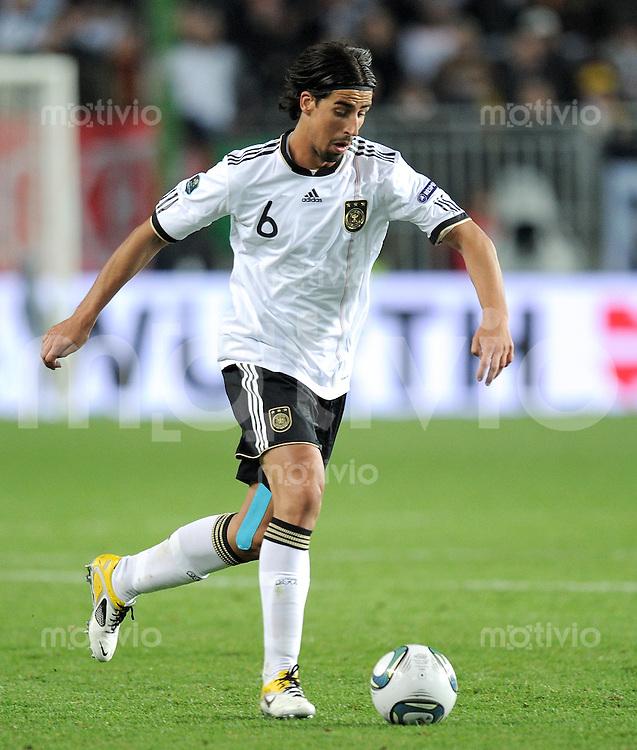 FUSSBALL INTERNATIONAL  EM 2012-Qualifikation   Gruppe A   26.03.2011 Deutschland - Kasachstan Sami KHEDIRA (Deutschland)