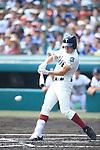 Takumi Minemoto (Osaka Toin),<br /> AUGUST 25, 2014 - Baseball :<br /> 96th National High School Baseball Championship Tournament final game between Mie 3-4 Osaka Toin at Koshien Stadium in Hyogo, Japan. (Photo by Katsuro Okazawa/AFLO)4() vs 1