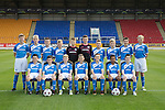 St Johnstone Academy Under 13&rsquo;s&hellip;2016-17<br />Back row from left, Craig Donald, Logan Young, Aaron Isaac, Scott Lavelle, Craig Hepburn, Matthew Hanlon, Euan Hay, Fraser Armstrong, Angus Gibson and Luke Graham.<br />Front row from left, Gavin Hamilton, Mitchell Findlay, Jack Bain, Ben Reilly, Evan Wolecki, Danny McEwan and Liam Gracie.<br />Picture by Graeme Hart.<br />Copyright Perthshire Picture Agency<br />Tel: 01738 623350  Mobile: 07990 594431