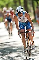 30 MAY 2009 - MADRID,ESP - Jose Ignacio Cembellin Lopez - Spanish Triathlon Championships (PHOTO (C) NIGEL FARROW)