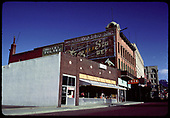 Buildings on city street - Hotel Toltec, Silver Spruce - Location is possibly Durango.<br /> Durango ?, CO
