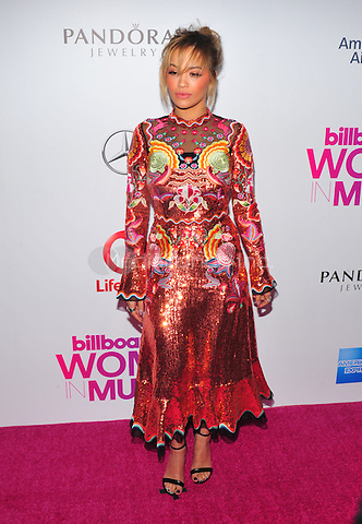 NEW YORK, NY - DECEMBER 9 : Rita Ora at the 11th Annual Billboard's Women In Music Luncheon at Madison Square Garden in New York City on December 9, 2016. Credit: John Palmer/MediaPunch