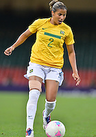 August 03, 2012 - Brazil's Fabiana in action during Group F match between JPN and BRA at the Millennium Stadium. .