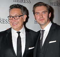 "Director Moises Kaufman and Dan Stevens attend the opening night party for Broadway's ""The Heiress"" at The Edison Ballroom in New York, 01.11.2012...Credit: Rolf Mueller/face to face / MediaPunch Inc  **online only for weekly magazines**** .<br />