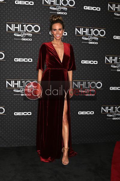 Keltie Knight<br /> at the The NHL100 Gala, Microsoft Theater, Los Angeles, CA 01-27-17<br /> David Edwards/DailyCeleb.com 818-249-4998