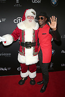 17 November 2019 - Los Angeles, California - Aloe Blacc, Santa Claus. 2019 Christmas At The Grove: A Festive Tree Lighting held at The Grove. Photo Credit: FS/AdMedia