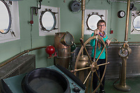 portrait for a testimonial, National Trust, Boston, MA on Nantucket Lightship