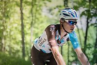 Oliver Naesen (BEL/AG2R-La Mondiale)<br /> <br /> stage 7: Aoste &gt; Alpe d'Huez (168km)<br /> 69th Crit&eacute;rium du Dauphin&eacute; 2017
