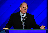 Mayor Mike Duggan (Democrat of Detroit, Michigan) makes remarks during the third session of the 2016 Democratic National Convention at the Wells Fargo Center in Philadelphia, Pennsylvania on Wednesday, July 27, 2016.<br /> Credit: Ron Sachs / CNP<br /> (RESTRICTION: NO New York or New Jersey Newspapers or newspapers within a 75 mile radius of New York City)