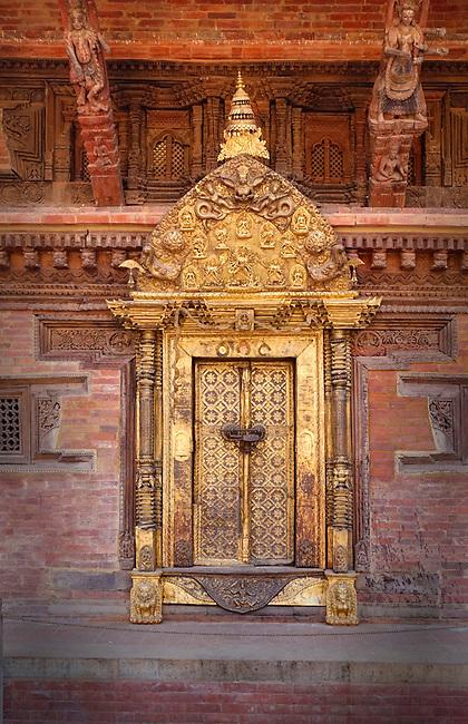 Old door, Patan, Nepal