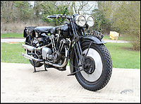 BNPS.co.uk (01202 558833)<br /> Pic: Bonhams/BNPS<br /> <br /> Untouched time capsule makes this Brough Superior.<br /> <br /> An exceptionally rare vintage Brough Superior motorbike that has remained entirely unaltered since it was built nearly 90 years ago has emerged for &pound;140,000. <br /> <br /> From the marque dubbed the 'Rolls-Royce' of motorcycles this 680 Black Alpine bears the same frame, engine and gearbox as it did when it left the now defunct manufacturer's Nottingham factory in 1930. <br /> <br /> In 1927, with heavyweight models SS80 and SS100 already well established, biking pioneer George Brough decided to unleash a middleweight machine on to the burgeoning market. <br /> <br /> The bike will be sold by Bonhams in Stafford, Staffs, on April 23.