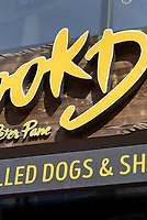 Restaurant-Hook Dogs, Neue Große Bergstr. 15, Hamburg - Altona, Deutschland, Europa<br /> Restaurant-Hook Dogs, Neue Große Bergstr. 15, Hamburg - Altona, Germany, Europe