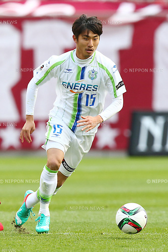 Kim Jong Pil (Bellmare),<br /> MARCH 14, 2015 - Football / Soccer : <br /> 2015 J1 League 1st stage match between<br /> Kashima Antlers 1-2 Shonan Bellmare<br /> at Kashima Soccer Stadium in Ibaraki, Japan.<br /> (Photo by Shingo Ito/AFLO SPORT)