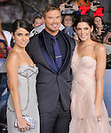 Nikki Reed,Kellan Lutz and Ashley Greene attends The world premiere of Summit Entertainment's THE TWILIGHT SAGA: BREAKING DAWN -PART 2 held at  Nokia Theater at L.A. Live in Los Angeles, California on November 12,2012                                                                               © 2012 DVS / Hollywood Press Agency