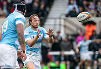 Joel Hodgson of Newcastle Falcons during the Greene King IPA Championship match between London Scottish Football Club and Newcastle Falcons at Richmond Athletic Ground, Richmond, United Kingdom on 12 October 2019. Photo by Liam McAvoy.
