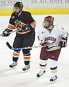 Brian Carthas, Benn Ferreiro - Boston College defeated Princeton University 5-1 on Saturday, December 31, 2005 at Magness Arena in Denver, Colorado to win the Denver Cup.  It was the first meeting between the two teams since the Hockey East conference began play.