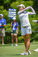 So Yeon Ryu (KOR) watches her tee shot on 11 during round 1 of the 2018 KPMG Women's PGA Championship, Kemper Lakes Golf Club, at Kildeer, Illinois, USA. 6/28/2018.<br /> Picture: Golffile | Ken Murray<br /> <br /> All photo usage must carry mandatory copyright credit (&copy; Golffile | Ken Murray)