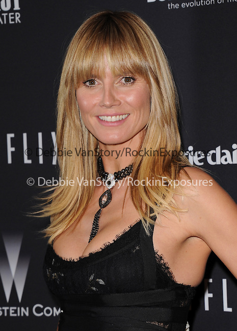 Heidi Klum<br /> <br />  attends THE WEINSTEIN COMPANY & NETFLIX 2014 GOLDEN GLOBES AFTER-PARTY held at The Beverly Hilton Hotel in Beverly Hills, California on January 12,2014                                                                               © 2014 Hollywood Press Agency