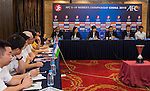 AFC Match Coordination Meeting (MCM) Group A during the AFC U-19 Women's Championship China at the Tianyun Lake Sports Resort on 17 August 2015 in Nanjing, China. Photo by Aitor Alcalde / Power Sport Images