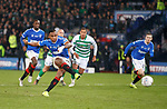 08.11.2019 League Cup Final, Rangers v Celtic: Alfredo Morelos fails to score from the spot