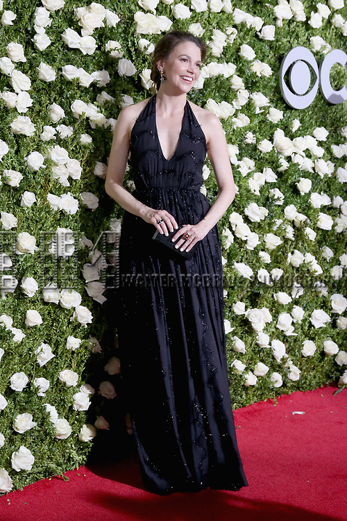NEW YORK, NY - JUNE 11:  Sutton Foster attends the 71st Annual Tony Awards at Radio City Music Hall on June 11, 2017 in New York City.  (Photo by Walter McBride/WireImage)