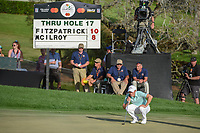 Matt Fitzpatrick (ENG) looks over his putt on 18 during round 4 of the Arnold Palmer Invitational at Bay Hill Golf Club, Bay Hill, Florida. 3/10/2019.<br /> Picture: Golffile | Ken Murray<br /> <br /> <br /> All photo usage must carry mandatory copyright credit (© Golffile | Ken Murray)