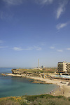 Israel, Sharon region. kfar hayam beach in Hadera