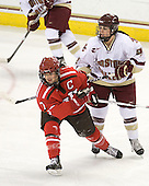 Tara Akstull (St. Lawrence - 7), Mary Restuccia (BC - 22) - The visiting St. Lawrence University Saints defeated the Boston College Eagles 4-0 on Friday, January 15, 2010, at Conte Forum in Chestnut Hill, Massachusetts.