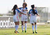 Bradenton, FL - Wednesday, June 06, 2018: The U.S. U-17 women's national team defeated the national team of Bermuda 10-1 in an U-17 women's CONCACAF Championship match at IMG Academy.