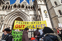 "18.03.2014 - ""Solidarity Picket: 'Police Spies Out of Lives' Women in Court"""