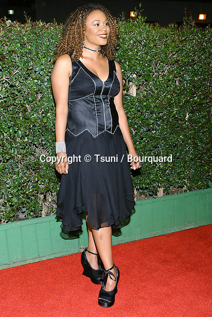 Rachel True arriving at the NAACP Image Awards 2004 at the Universal Amphitheatre in Los Angeles. March 7, 2004.
