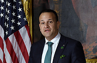 Leo Varadkar, Ireland's prime minister speaks during the Friends of Ireland luncheon at the U.S. Capitol in Washington, D.C., U.S., on Thursday, March 14, 2019. <br /> Credit: Olivier Douliery / Pool via CNP/AdMedia