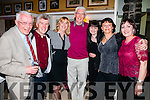 Denis Reidy, Jerry Trainer, Julie O'Brien, Denis McCarthy, Josephine O'Connor Jane O'Donoghue Nonie Slattery, enjoying the Beru reunion, held at the Brogue Inn, Tralee on Saturday night last.
