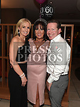 Jacinta Vaughey celebrating her 60th birthday with friends Colin and Anita Lenehan in Brú. Photo:Colin Bell/pressphotos.ie
