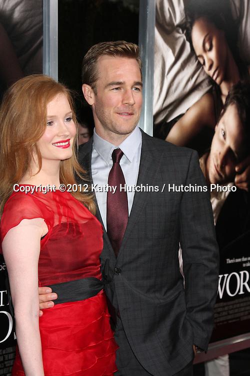 """LOS ANGELES - SEP 4:  James Van Der Beek arrives at """"The Words"""" Premiere at ArcLight Cinemas on September 4, 2012 in Los Angeles, CA"""