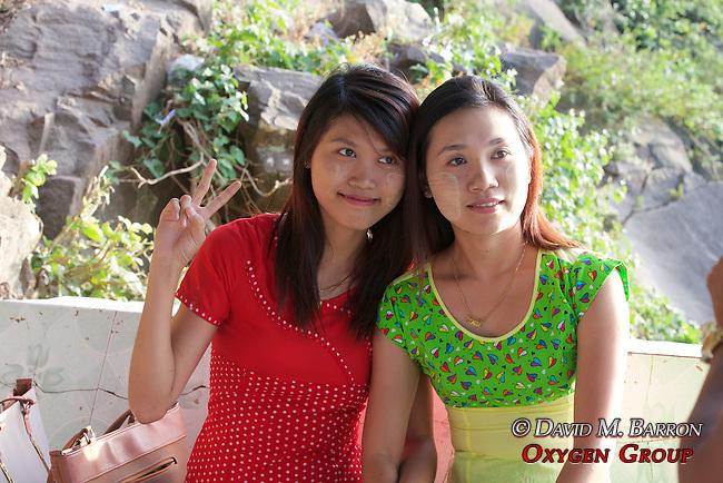 Young Women, Mount Popa