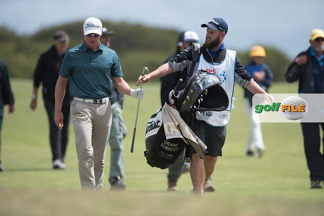 Grant Forrest (SCO) during the 3rd round of the VIC Open, 13th Beech, Barwon Heads, Victoria, Australia. 09/02/2019.<br /> Picture Anthony Powter / Golffile.ie<br /> <br /> All photo usage must carry mandatory copyright credit (© Golffile | Anthony Powter)