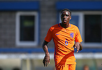 Rodney Kongolo (Manchester City) of Holland during the International match between England U19 and Netherlands U19 at New Bucks Head, Telford, England on 1 September 2016. Photo by Andy Rowland.