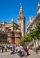 Spanien, Andalusien, Sevilla: Kathedrale, La Giralda | Spain, Andalusia,Seville: cathedral, La Giralda