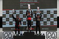 Race 2, Gold Podium, #25 NGT Motorsport, Porsche 991 / 2016, GT3G: Victor Gomez IV, #5 TPC Racing, Porsche 991 / 2016, GT3G: Rob Ferriol, #42 Topp Racing, Porsche 991 / 2014, GT3G: Bill Smith