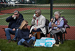 Supporters gathering at a Brexit Party event in Chester, Cheshire where the new party's leader Nigel Farage gave the main address. Mr Farage was joined on the platform by his party colleague Ann Widdecombe, the former Conservative government minister. And other prominent party members. The event was attended by around 300 people and was one of the first since the formation of the Brexit Party by Nigel Farage in Spring 2019.
