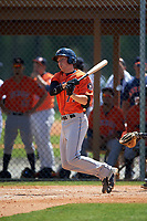 Houston Astros Bobby Wernes (77) during a minor league Spring Training game against the Detroit Tigers on March 30, 2016 at Tigertown in Lakeland, Florida.  (Mike Janes/Four Seam Images)