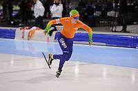 SCHAATSEN: HEERENVEEN: IJsstadion Thialf, 12-01-2013, Seizoen 2012-2013, Essent ISU EK allround, 3000m Ladies, Antoinette de Jong (NED), ©foto Martin de Jong
